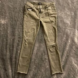 EXPRESS ANKLE JEANS